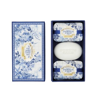 CASTELBEL - Coffret de 3 savons gold & blue Portus Cale