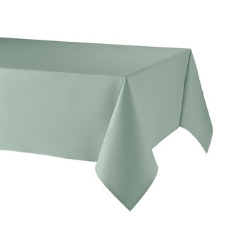 ATENAS - Nappe enduite 100% lin vert 150x200cm