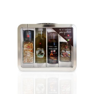 COLLITALI - Valisette Metal barbecue & plancha
