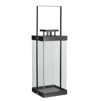 Lanterne gris Aarhus - l15,5xb15,5xh50cm