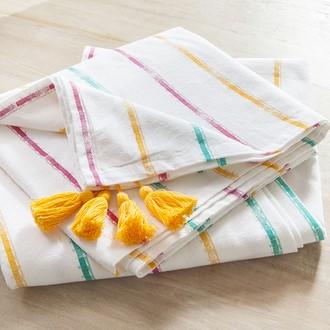 Nappe cortez 100% coton lavé 170g 150x150cm