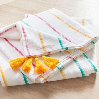 Nappe cortez 100 % coton lavé 170g 150x250g