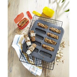 MASTRAD - kit barres de céréales (moules+tasseurs+boites de transport+recettes)