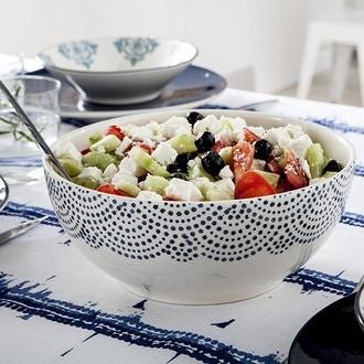 Table passion - saladier grèce 23 cm