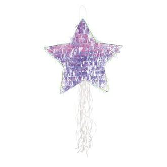 Pinata étoile irisée