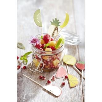 8 pics fruits