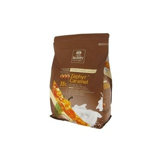 BARRY - Pistoles de chocolat Zephyr Caramel 1kg