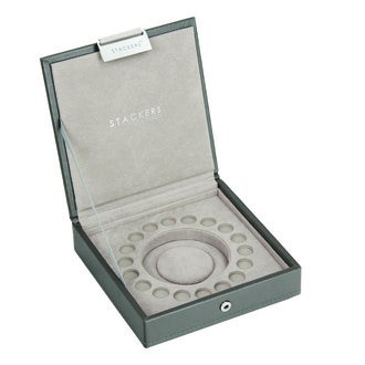 STACKER - Boite bijoux pour charms taupe 15x15x3,5cm