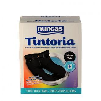 NUNCAS - Tintoria - Jeans noir