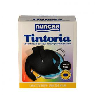 NUNCAS - Tintoria - Soie nylon noir