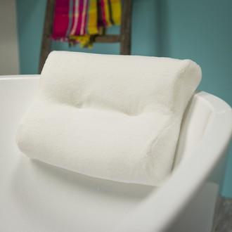 SEALSKIN - Coussin de baignoire blanc Spa 33x24cm