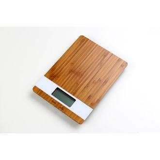 Balance électronique bambou