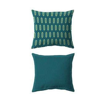 MAOM - Taie d'oreiller carrée en percale imprimée Gothic Past 65x65cm