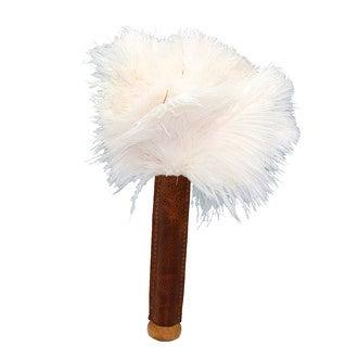 REDECKER - Plumeau de massage en cuir et plumes