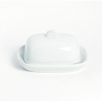 Beurrier individuel blanc 11x10,6cm