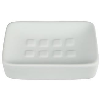 Porte-savon blanc Rubber
