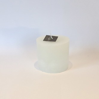 Maom - bougie cylindrique blanche 10x10cm