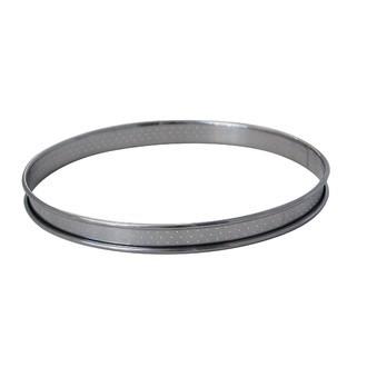 DE BUYER - cercle à tarte inox perforé bord roulé Ø10cm