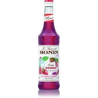 MONIN - Sirop Fraise Bonbon 70 cl