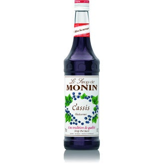 MONIN - Sirop goût cassis 70cl