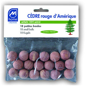 MONDEX - 18 petites boules antimites