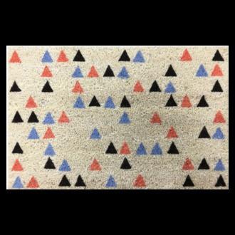 Paillasson coco imprimé Iceland tricolor 40x60cm