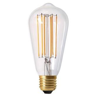 Ampoule dimmable claire edison e27 - diam 64mm