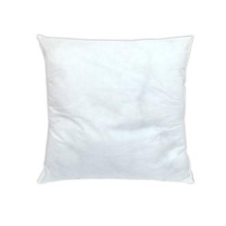 Coussin de rembourrage carré en mousse blanc 40x40cm