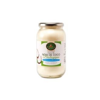 huile de coco biologique désodorisée 1L