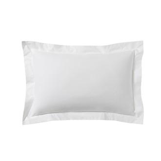Zodio - taie d'oreiller rectangle en coton blanc 50x70cm