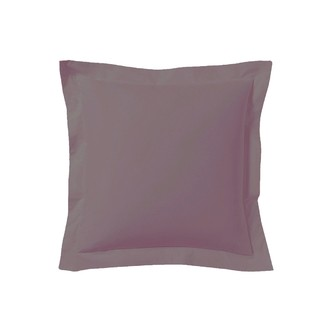 Zodio - taie d'oreiller carrée en coton violine 65x65cm