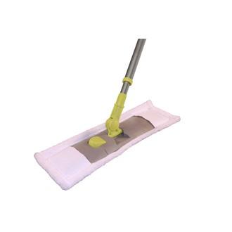 NESPOLI - Balais rasant microfibre avec manche téléscopique 40cm