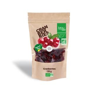 BROUSSE - Cranberries séchées bio 130g