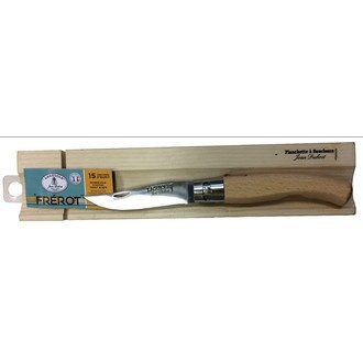 LAGUIOLE - Planchette à saucisson couteau