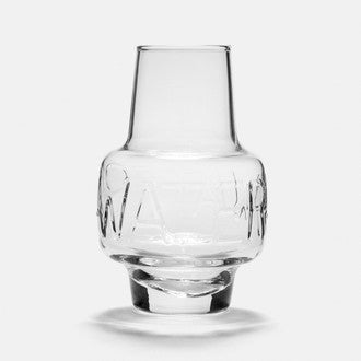 LA ROCHERE- Carafe en verre, décor Boston Water 60cl