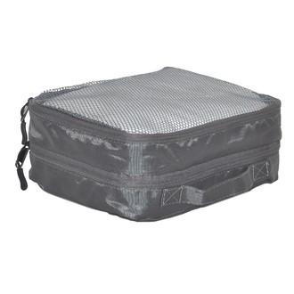 ZODIO - Housse de voyage à vêtements 2 poches grises