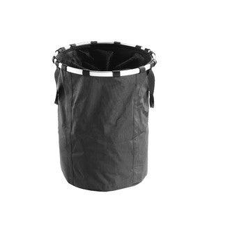 Panier à linge textile noir