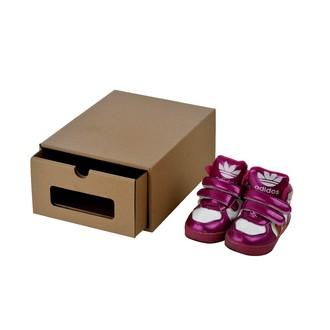Boîte à chaussures à fenêtre 25x19x11