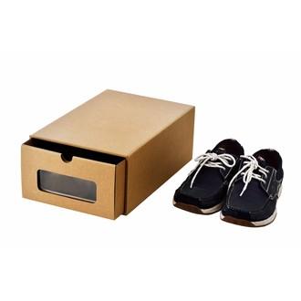 Boîte à chaussures à fenêtre 35x23x13