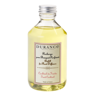 DURANCE - Recharge pour bouquet parfumé cocktail de fruits 100 ml
