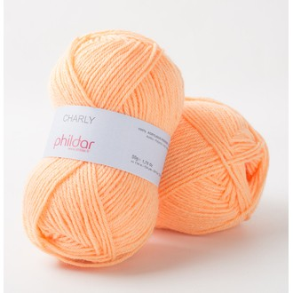 PHILDAR - Pelote phil charly saumon 50gr