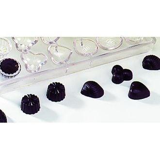 MAT FER - Moule à chocolats 24 empreintes en polycarbonate