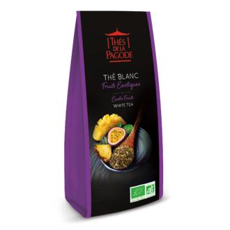 THE DE LA PAGODE Thé blanc fruits exotiques bio en paquet