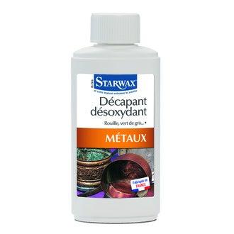 STARWAX - Décapant désoxydant pour métaux 250ml