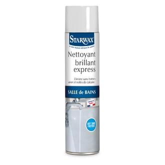 STARWAX - Nettoyant express pour salle de bain en aérosol 600ml