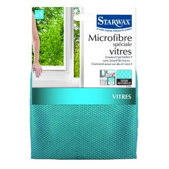STARWAX - Chiffon microfibre spécial vitres
