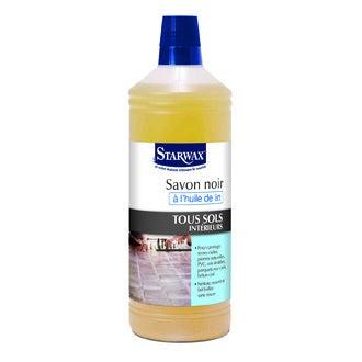 STARWAX - Savon noir à l'huile de lin 1L