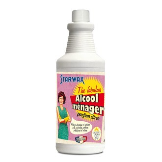 STARWAX - Alcool ménager The fabulous 90° 800ml