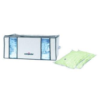 COMPACTOR - Housse tiroir 210L avec 2 sacs vide d'air par aspiration