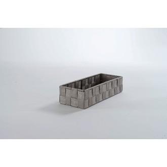 COMPACTOR - Organiseur de tiroir gris 18x12x7cm